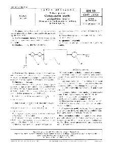 Paliwa gazowe - Oznaczanie siarki i związków siarki - Oznaczanie siarkowodoru metodą jodometryczną BN-89/0541-03-05