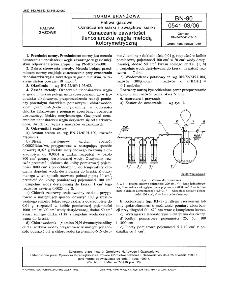 Paliwa gazowe - Oznaczanie siarki i związków siarki - Oznaczanie zawartości tlenosiarczku węgla metodą kolorymetryczną BN-90/0541-03-06