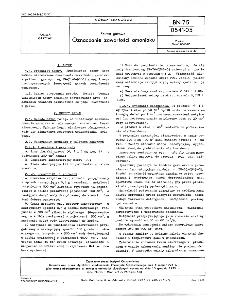 Paliwa gazowe - Oznaczanie zawartości aminiaku BN-75/0541-05