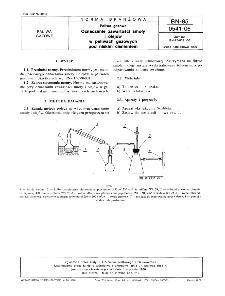 Paliwa gazowe - Oznaczanie zawartości smoły i olejów w paliwach gazowych pod niskim ciśnieniem BN-85/0541-06