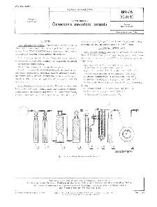 Paliwa gazowe - Oznaczanie zawartości benzolu BN-76/0541-10