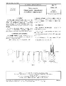Paliwa gazowe - Oznaczanie zawartości związków cyjanowych BN-77/0541-11