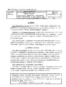 Paliwa gazowe - Oznaczanie zawartości węglowodorów benzolowych w gazie koksowniczym metodą chromatografii gazowej BN-89/0541-14
