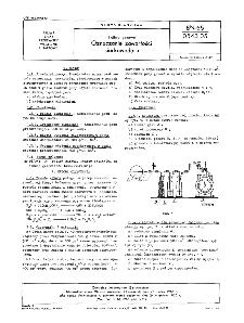 Paliwa gazowe - Oznaczanie zawartości siarkowodoru BN-65/0543-05