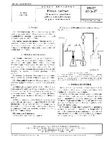 Paliwa gazowe - Oznaczanie zawartości glikolu dwuetylenowego w gazie koksowniczym BN-87/0543-17