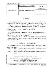 Żywica modrzewiowa BN-88/9235-02