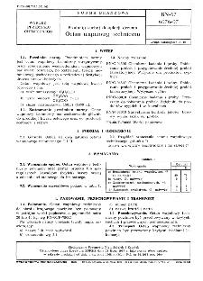Produkty suchej destylacji drewna - Octan wapniowy techniczny BN-67/6076-07