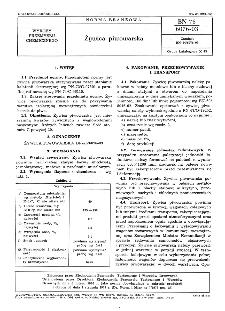 Żywica piwowarska BN-76/6076-03
