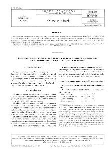 Oliwy z oliwek BN-91/8052-01
