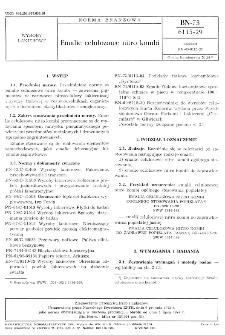 Emalie celulozowe nitro kombi BN-73/6115-29