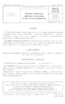Emalia celulozowa ogólnego stosowania khaki ciemna półmatowa BN-75/6115-30