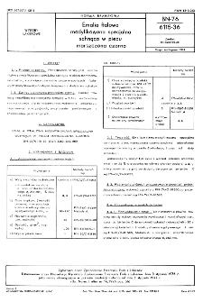 Emalia ftalowa modyfikowana specjalna schnąca w piecu marszczona czarna BN-76/6115-36
