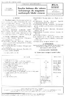 Emalia ftalowa dla taboru kolejowego do wagonów osobowych khaki ciemna BN-72/6115-45