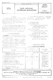 Emalie epoksydowe modyfikowane epoksyestrowe BN-81/6115-67