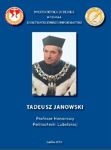 Tadeusz Janowski : Honorowy Profesor Politechniki Lubelskiej