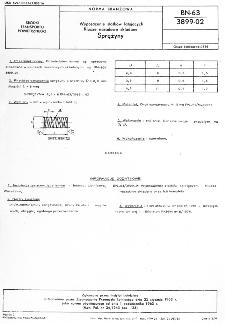 Wyposażenie statków latających - Klucze nasadowe składane - Sprężyny BN-63/3899-02
