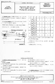 Wyposażenie statków latających - Klucze nasadowe składane - Przetyczki przesuwne BN-63/3899-04