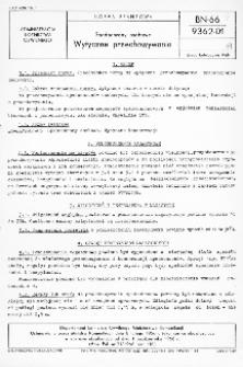 Spadochrony osobowe - Wytyczne przechowywania BN-66/9362-01