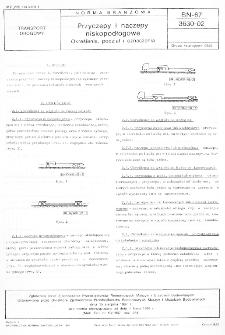 Przyczepy i naczepy niskopodłogowe - Określenia, podział i oznaczenia BN-67/3630-02