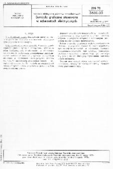 Instalacja elektryczna pojazdów samochodowych - Symbole graficzne stosowane w schematach elektrycznych BN-71/3680-03