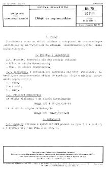 Obłąki do poprzeczników BN-75/3231-11