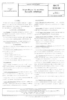 Telekomunikacyjne linie napowietrzne - Szczudła żelbetowe BN-77/3231-33