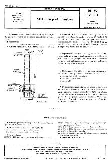 Stójka dla pilota okrętowa BN-79/3713-04
