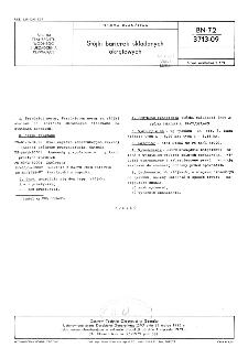 Stójki barierek składanych okrętowych BN-72/3713-09