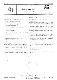 Drabiny drewniane przenośne okrętowe BN-77/3713-11