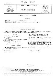 Kładki alulminiowe BN-87/3713-20