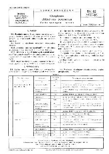 Okrętowe chłodnice powietrza - Ogólne wymagania i badania BN-82/3741-06