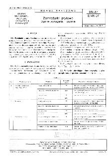 Zamrażarki płytowe - Ogólne wymagania i badania BN-87/3741-07