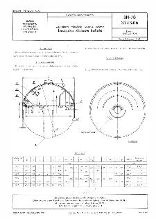 Uzbrojenie rybackich narzędzi połowu - Toczyska stalowe kuliste BN-78/3743-06