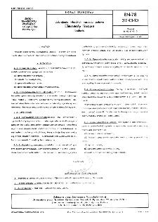 Uzbrojenie rybackich narzędzi połowu - Elementy linowe - Badania BN-78/3743-10