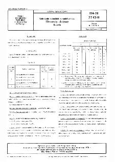 Uzbrojenie rybackich narzędzi połowu - Elementy stalowe - Badania BN-78/3743-11