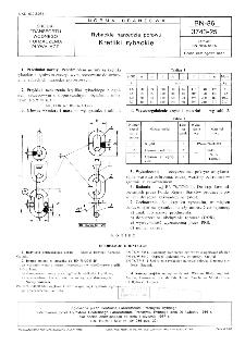 Rybackie narzędzia połowu - Krętliki rybackie BN-86/3743-25