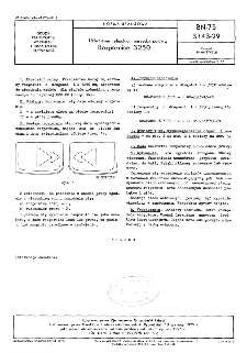 Uzbrojenie rybackich narzędzi połowu - Rozpornice 3250 BN-75/3743-29
