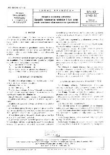 Rybackie narzędzia połowowe - Sposób rysowania włoków i tuk oraz znaki umowne stosowanie na rysunkach BN-83/3743-37