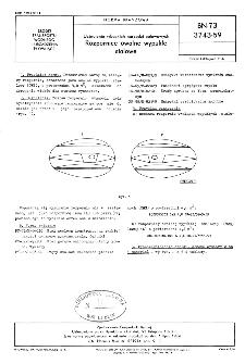 Uzbrojenie rybackich narzędzi połowowych - Rozpornice owalne wypukłe stalowe BN-73/3743-59