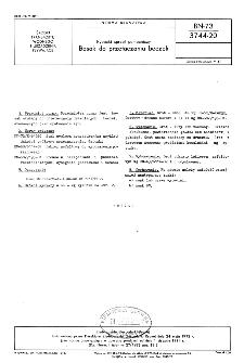 Rybacki sprzęt pomocniczy - Bosak do przetaczania beczek BN-73/3744-20