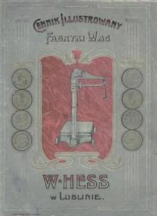 Cennik ilustrowany Fabryki Wag W. Hess w Lublinie