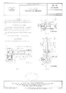Sprzęt nurkowy - Uchwyty do elektrod BN-76/3746-06