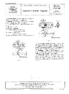 Łączniki i krętliki flagowe BN-84/3751-08