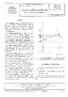 Żurawie pokładowe hakowe - Ogólne wymagania i badania BN-78/3753-06