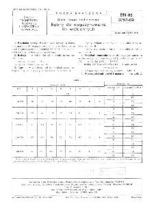 Statki taboru technicznego - Bębny do magazynowania lin włókiennych BN-88/3753-09