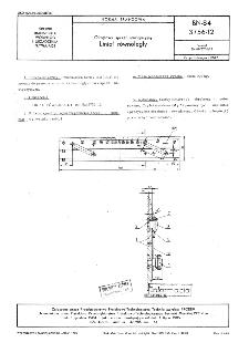 Okrętowy sprzęt nawigacyjny - Liniał równoległy BN-84/3756-12