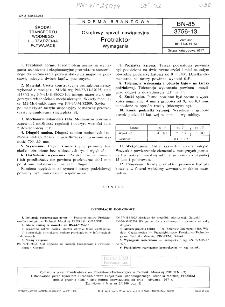 Okrętowy sprzęt nawigacyjny - Protraktor - Wymagania BN-85/3756-13