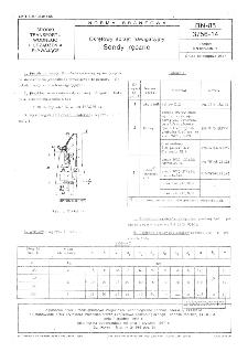 Okrętowy sprzęt nawigacyjny - Sondy ręczne BN-85/3756-14