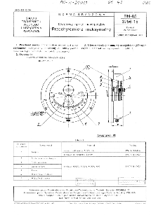 Okrętowy sprzęt nawigacyjny - Przechyłomierz maksymalny BN-85/3756-15