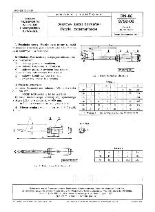 Okrętowy sprzęt bosmański - Rożki bosmańskie BN-86/3758-06
